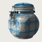 jarra de cerámica modelo 3d