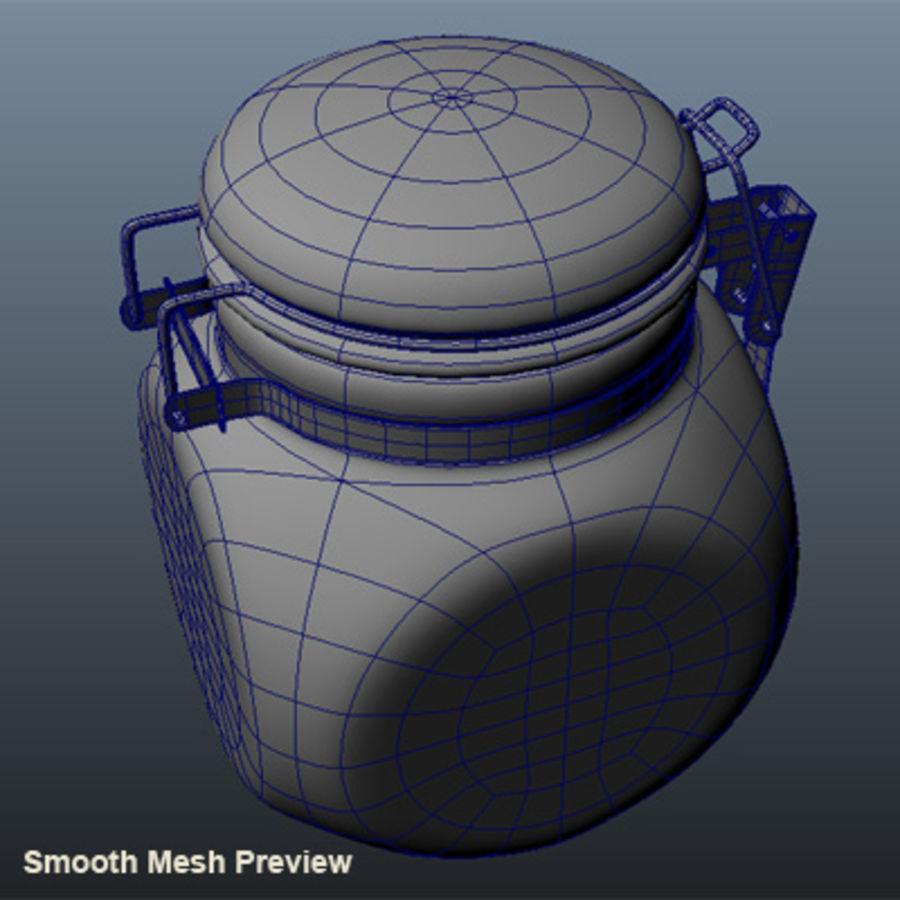 seramik kavanoz royalty-free 3d model - Preview no. 7