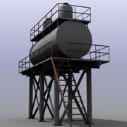 Ogromny zbiornik na wodę 3d model