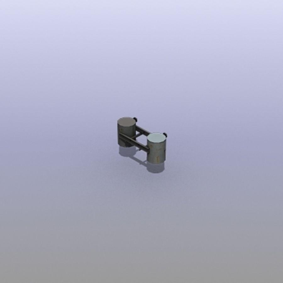 Acid Tanks royalty-free 3d model - Preview no. 5
