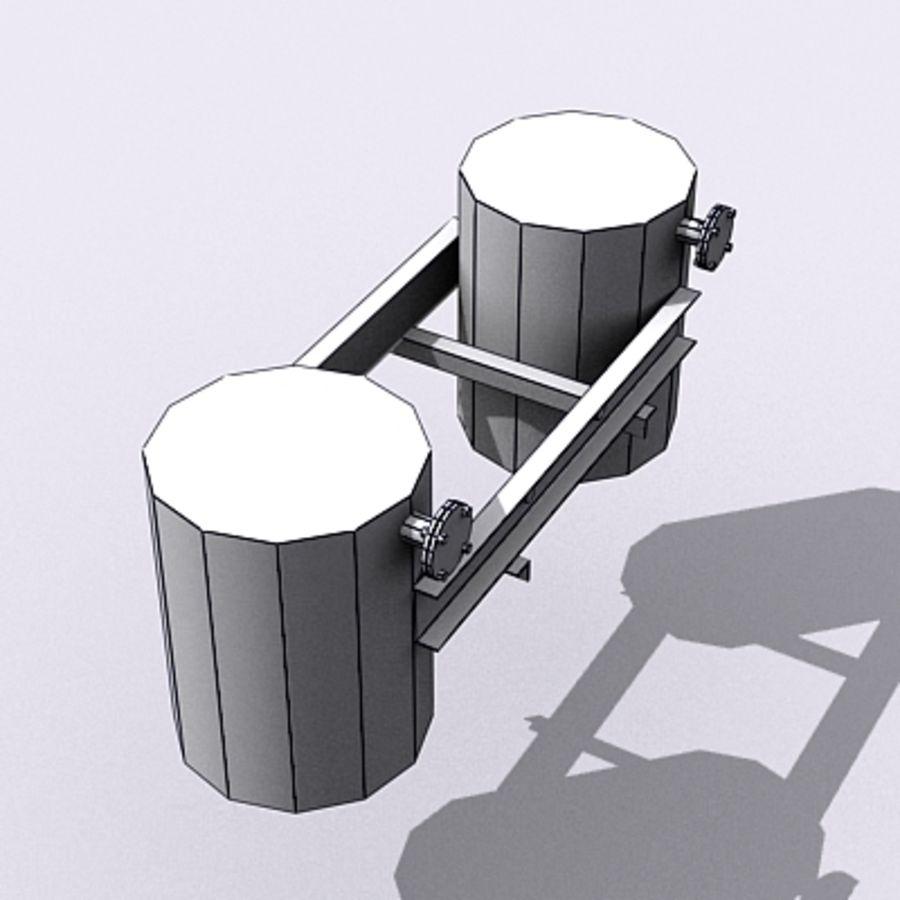 Acid Tanks royalty-free 3d model - Preview no. 8