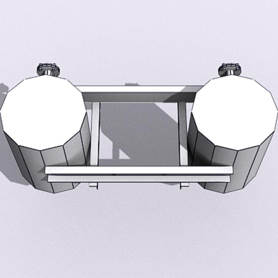 Acid Tanks royalty-free 3d model - Preview no. 7