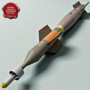 Aircraft Bomb GBU-12 PAVEWAY I 3d model