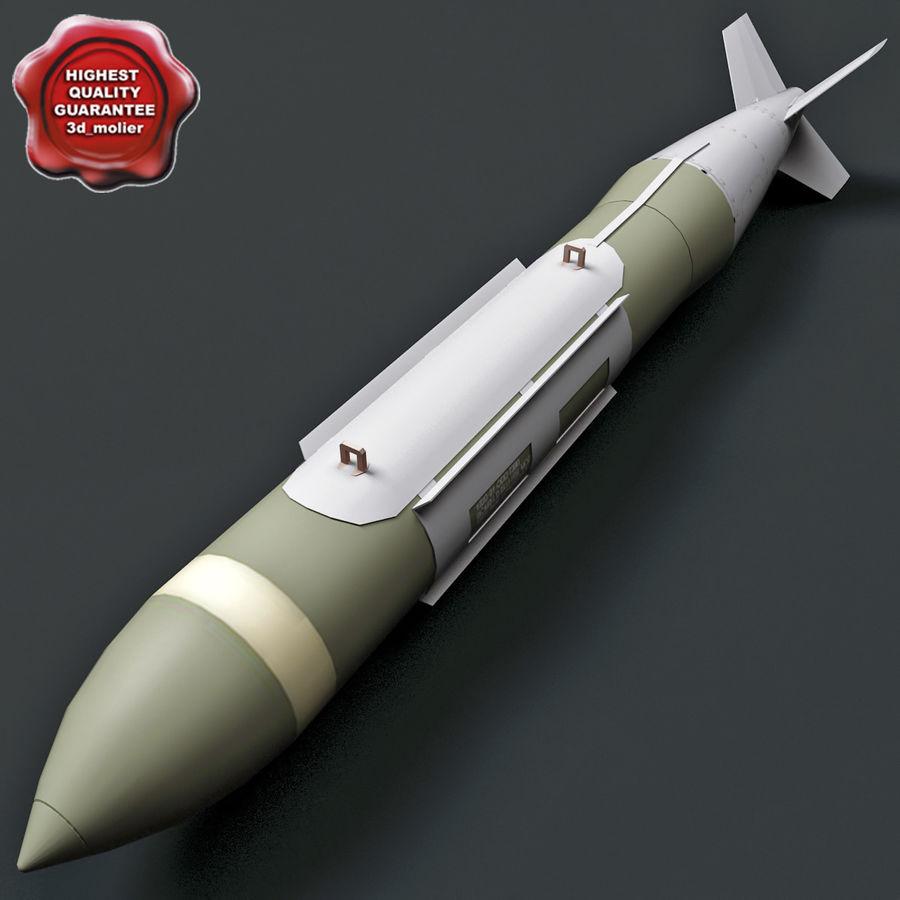 Aircraft Bomb GBU-31 JDAM with BLU-109 warhead royalty-free 3d model - Preview no. 1