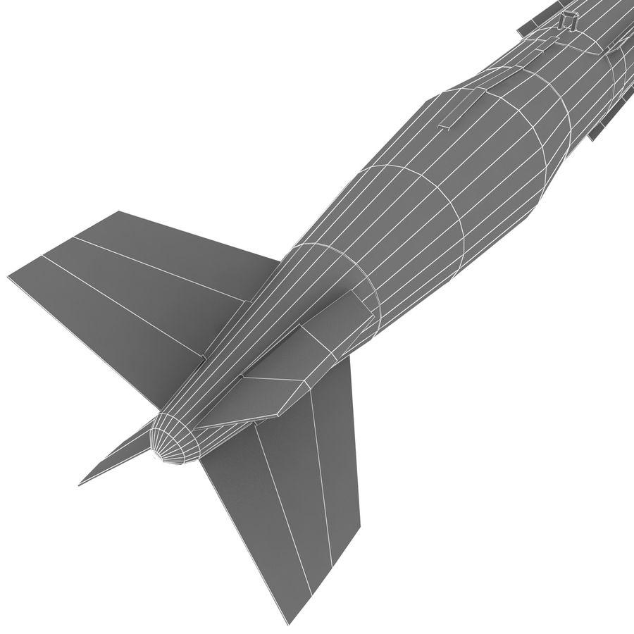 Aircraft Bomb GBU-31 JDAM with BLU-109 warhead royalty-free 3d model - Preview no. 12