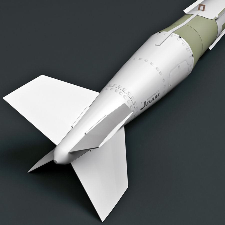 Aircraft Bomb GBU-31 JDAM with BLU-109 warhead royalty-free 3d model - Preview no. 5