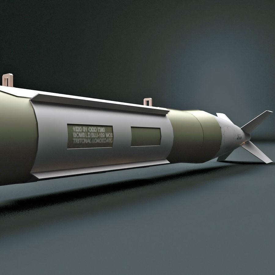 Aircraft Bomb GBU-31 JDAM with BLU-109 warhead royalty-free 3d model - Preview no. 6