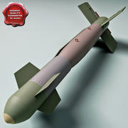 Aircraft Bomb GBU-15 with Mk.84 warhead 3d model