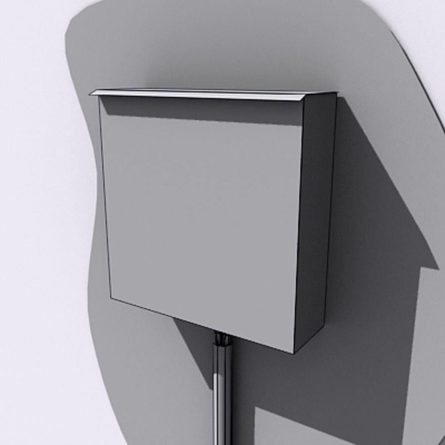 Power Box royalty-free 3d model - Preview no. 4