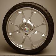 Rueda modelo 3d