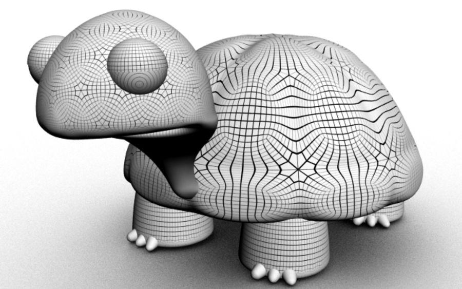 kaplumbağa royalty-free 3d model - Preview no. 3