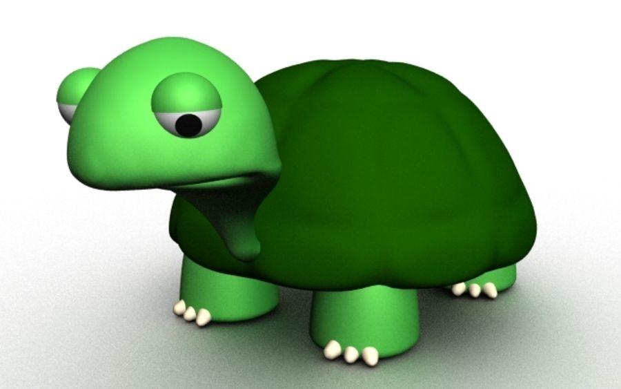 kaplumbağa royalty-free 3d model - Preview no. 1
