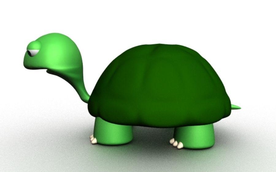 kaplumbağa royalty-free 3d model - Preview no. 2