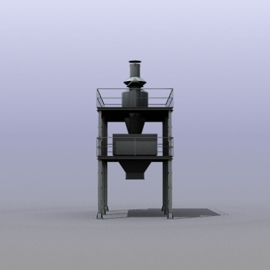 Vent System royalty-free 3d model - Preview no. 9