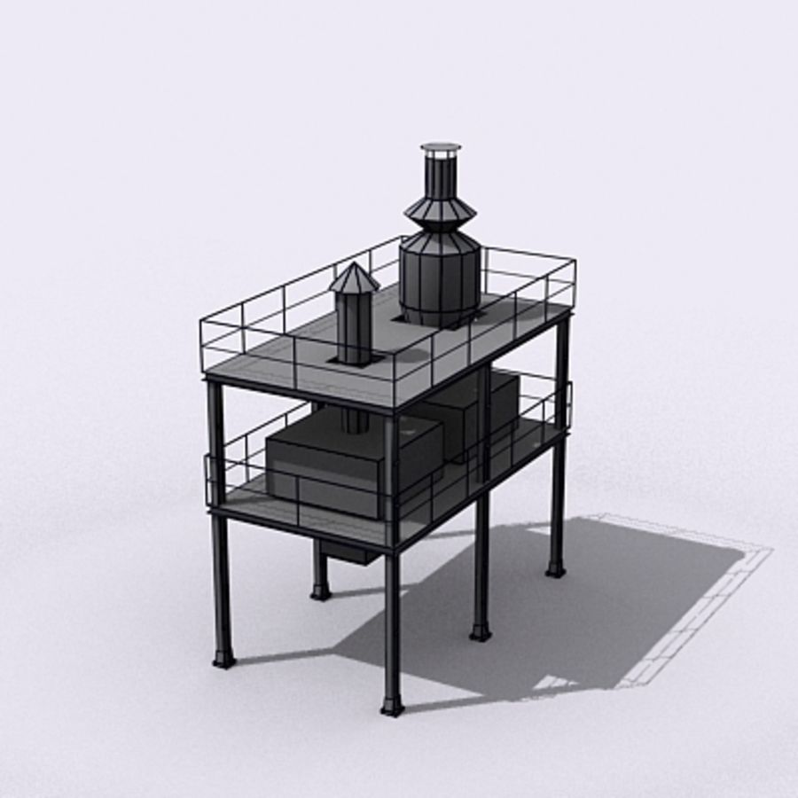 Vent System royalty-free 3d model - Preview no. 12