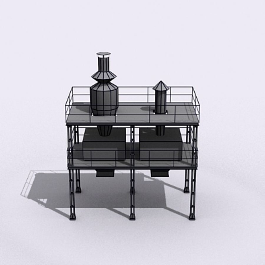 Vent System royalty-free 3d model - Preview no. 11