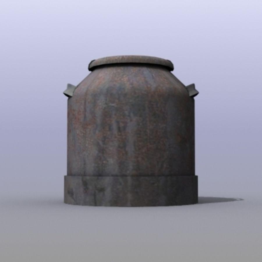 Oil Barrels royalty-free 3d model - Preview no. 38