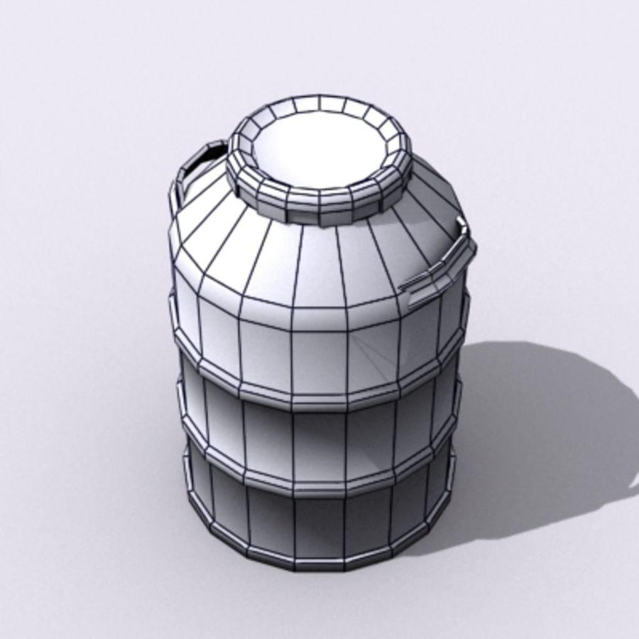 Oil Barrels royalty-free 3d model - Preview no. 54