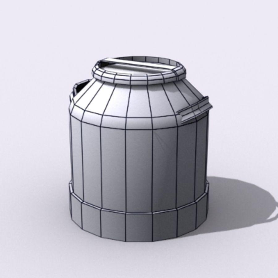 Oil Barrels royalty-free 3d model - Preview no. 59