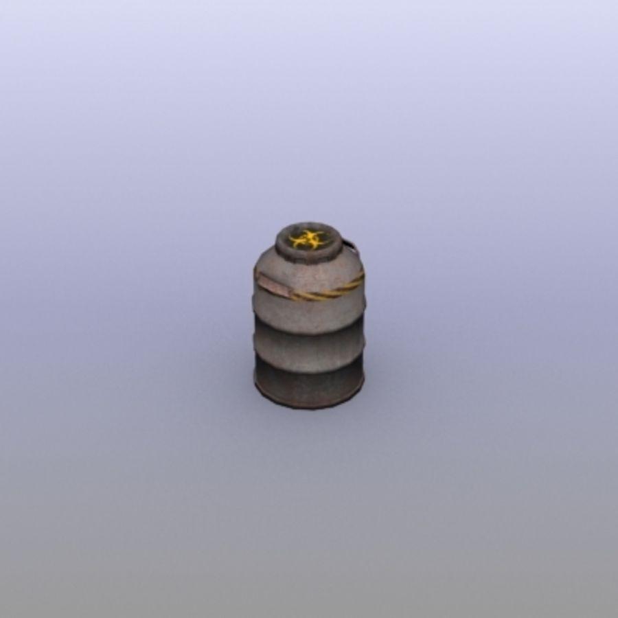 Oil Barrels royalty-free 3d model - Preview no. 33