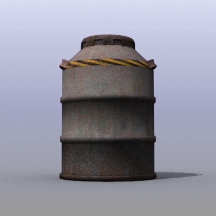 Oil Barrels royalty-free 3d model - Preview no. 24