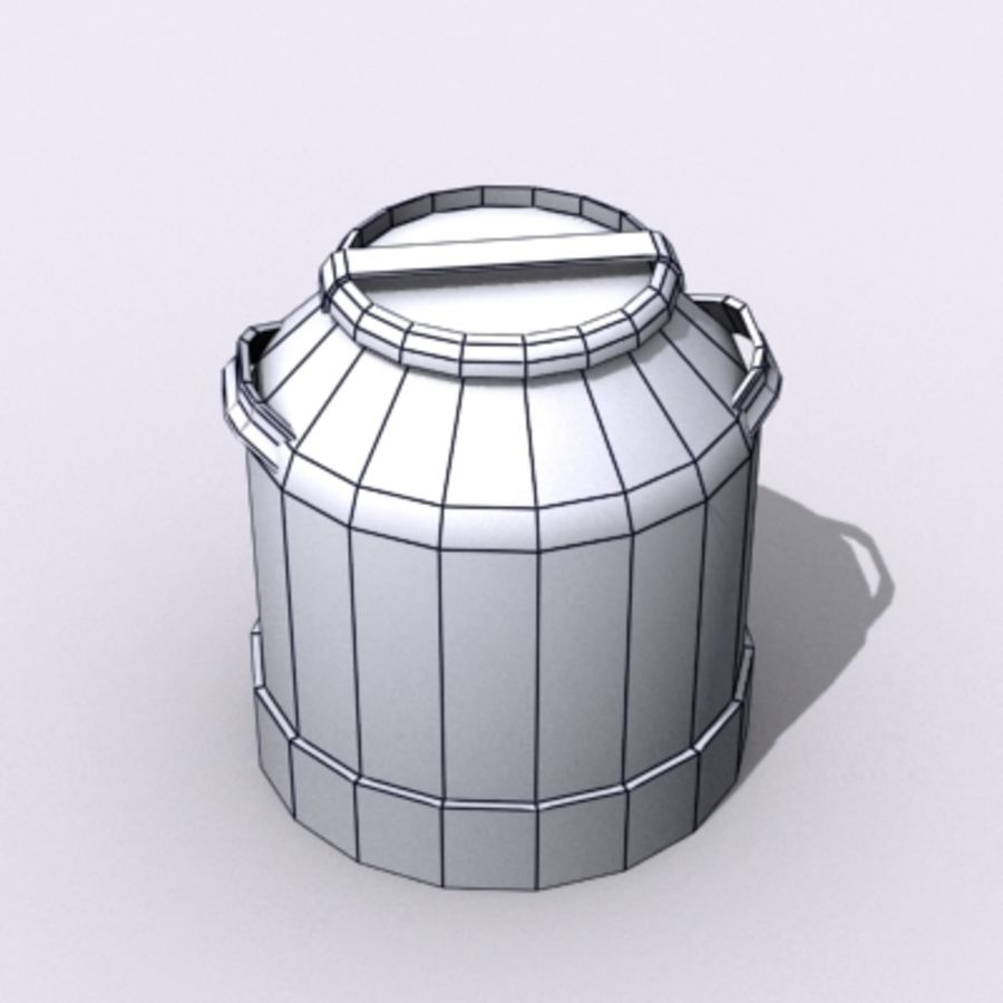 Oil Barrels royalty-free 3d model - Preview no. 62
