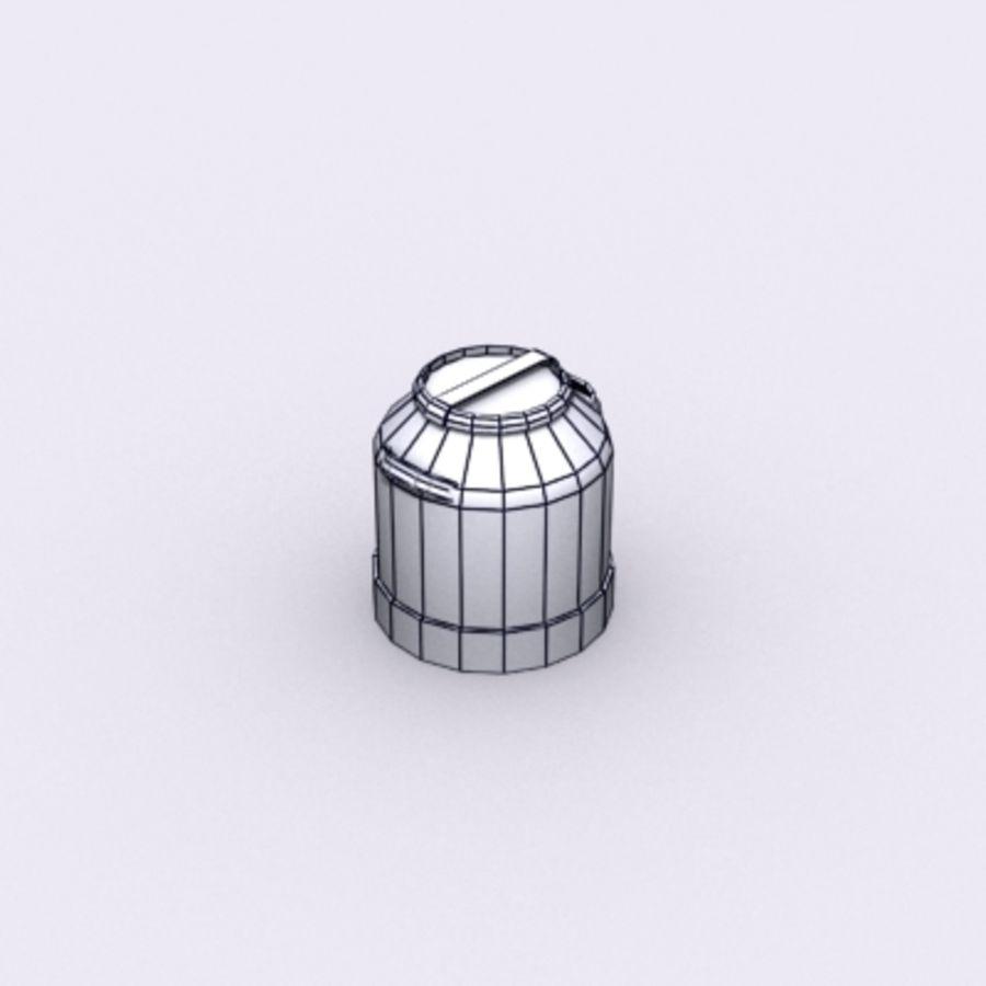 Oil Barrels royalty-free 3d model - Preview no. 64