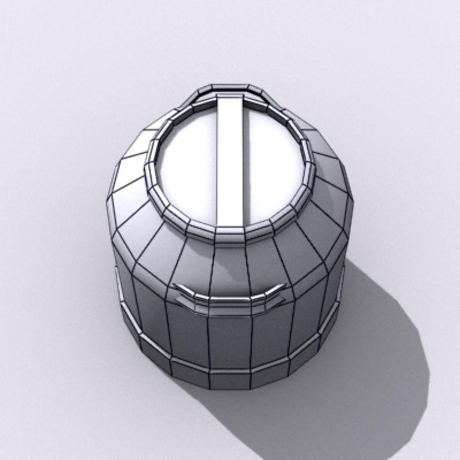 Oil Barrels royalty-free 3d model - Preview no. 63