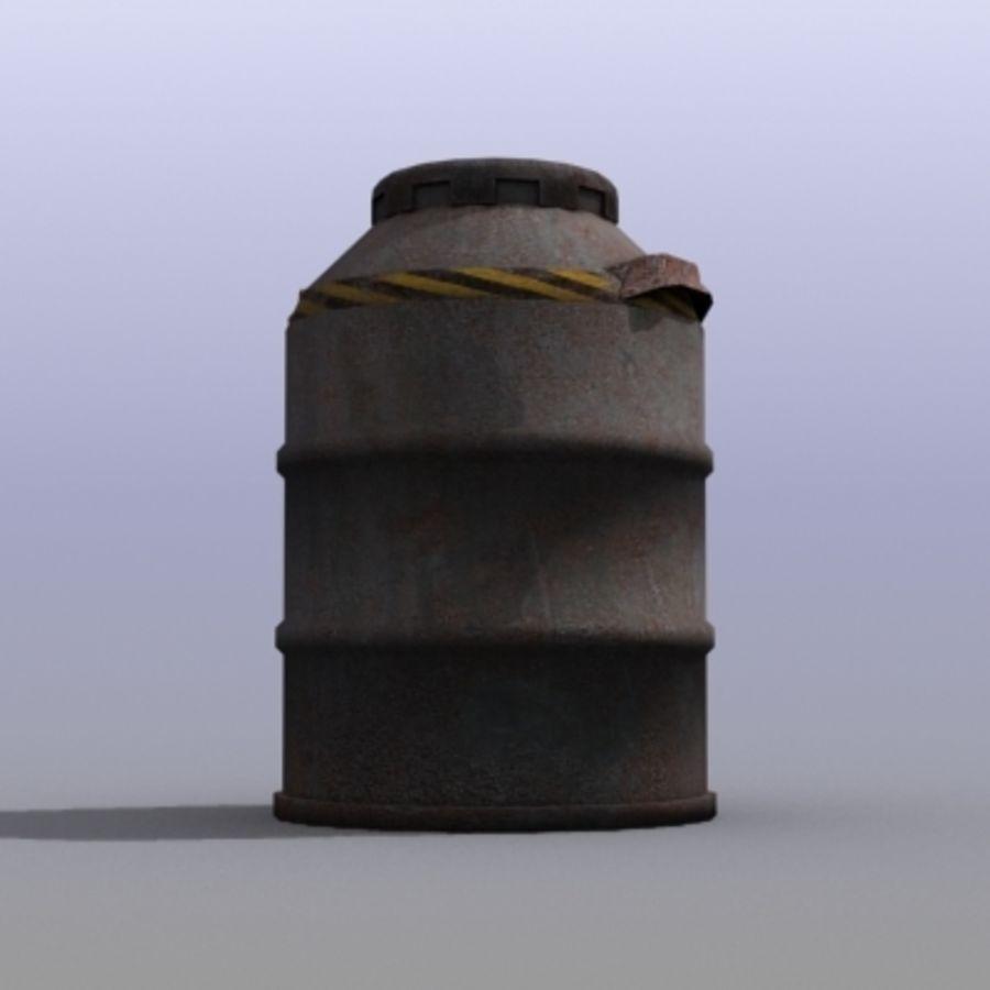 Oil Barrels royalty-free 3d model - Preview no. 28