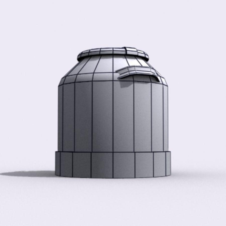 Oil Barrels royalty-free 3d model - Preview no. 61