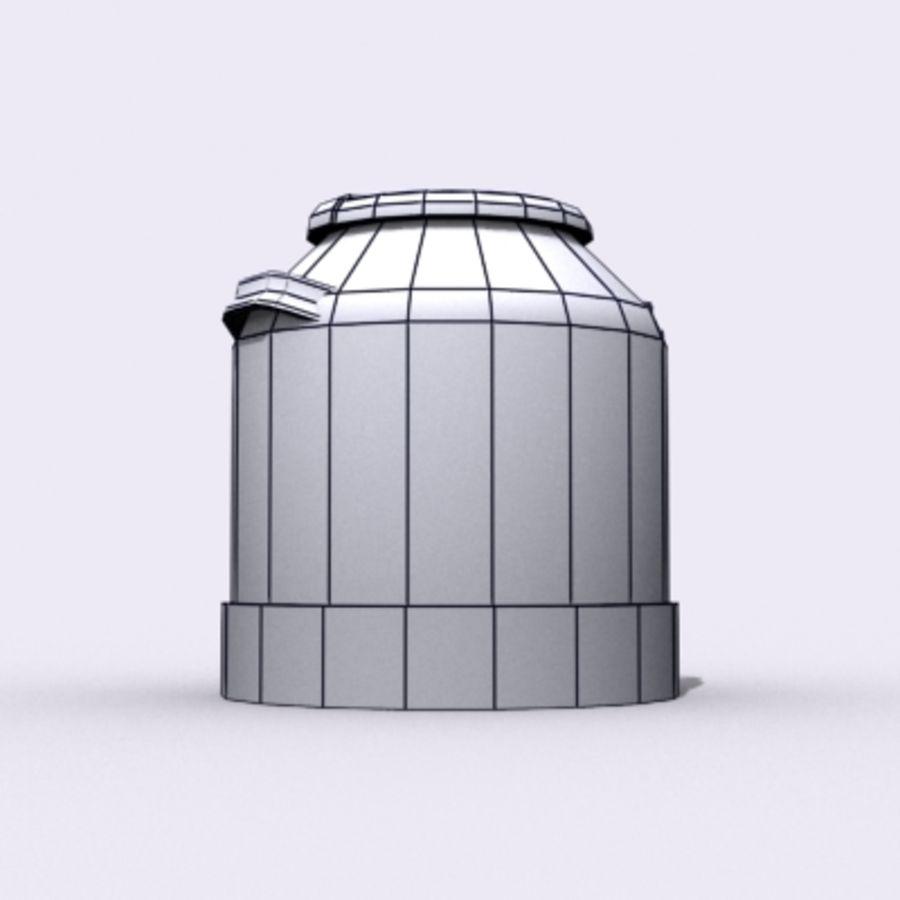 Oil Barrels royalty-free 3d model - Preview no. 50