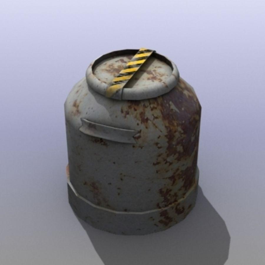 Oil Barrels royalty-free 3d model - Preview no. 13