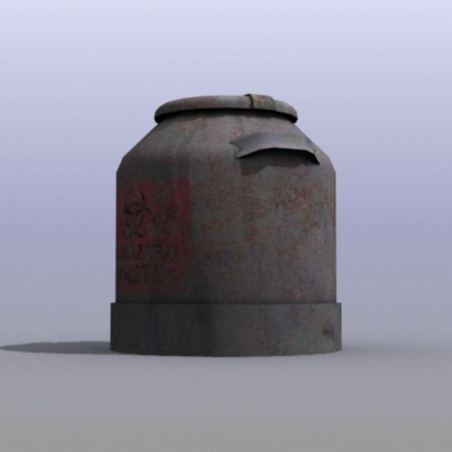 Oil Barrels royalty-free 3d model - Preview no. 40