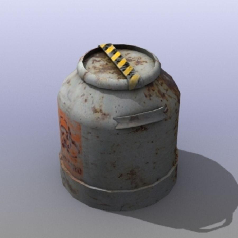 Oil Barrels royalty-free 3d model - Preview no. 12