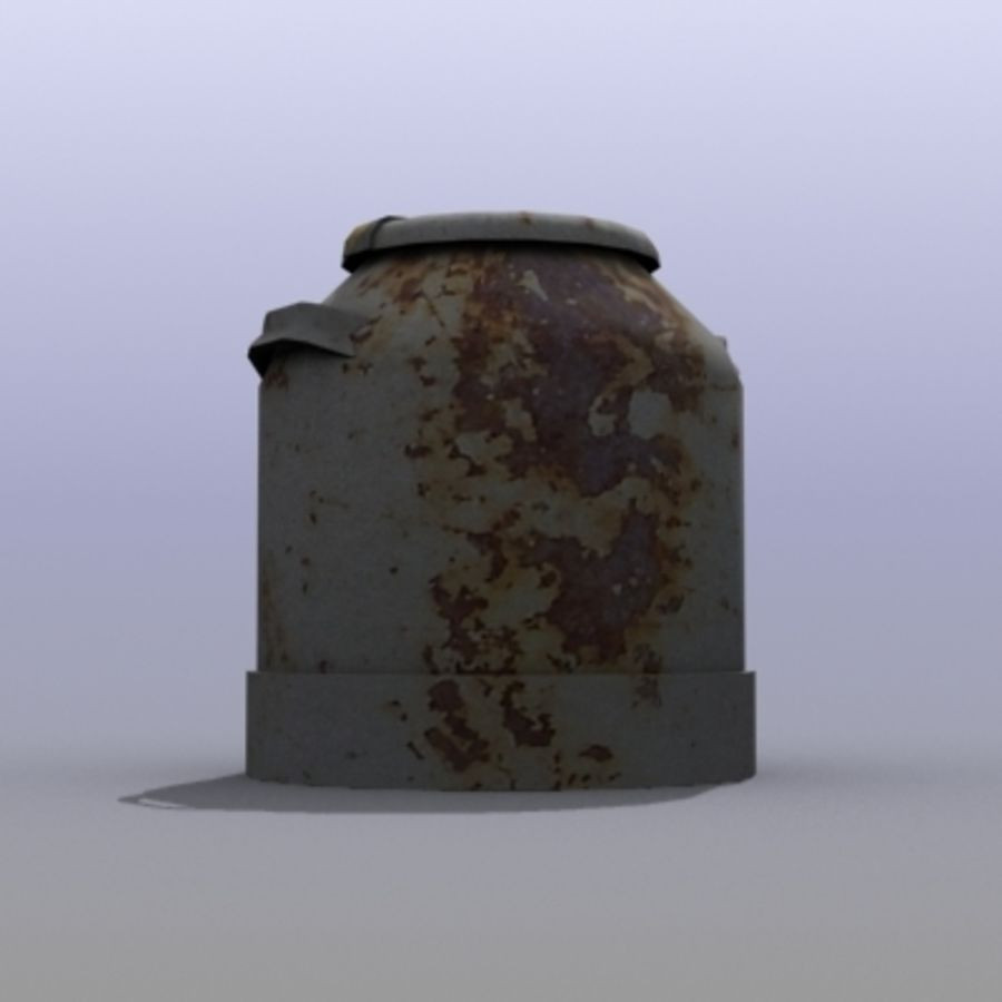 Oil Barrels royalty-free 3d model - Preview no. 4