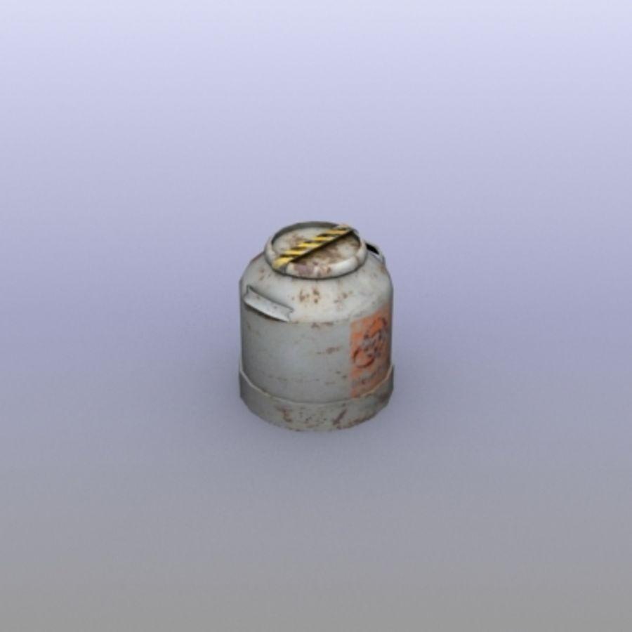 Oil Barrels royalty-free 3d model - Preview no. 14