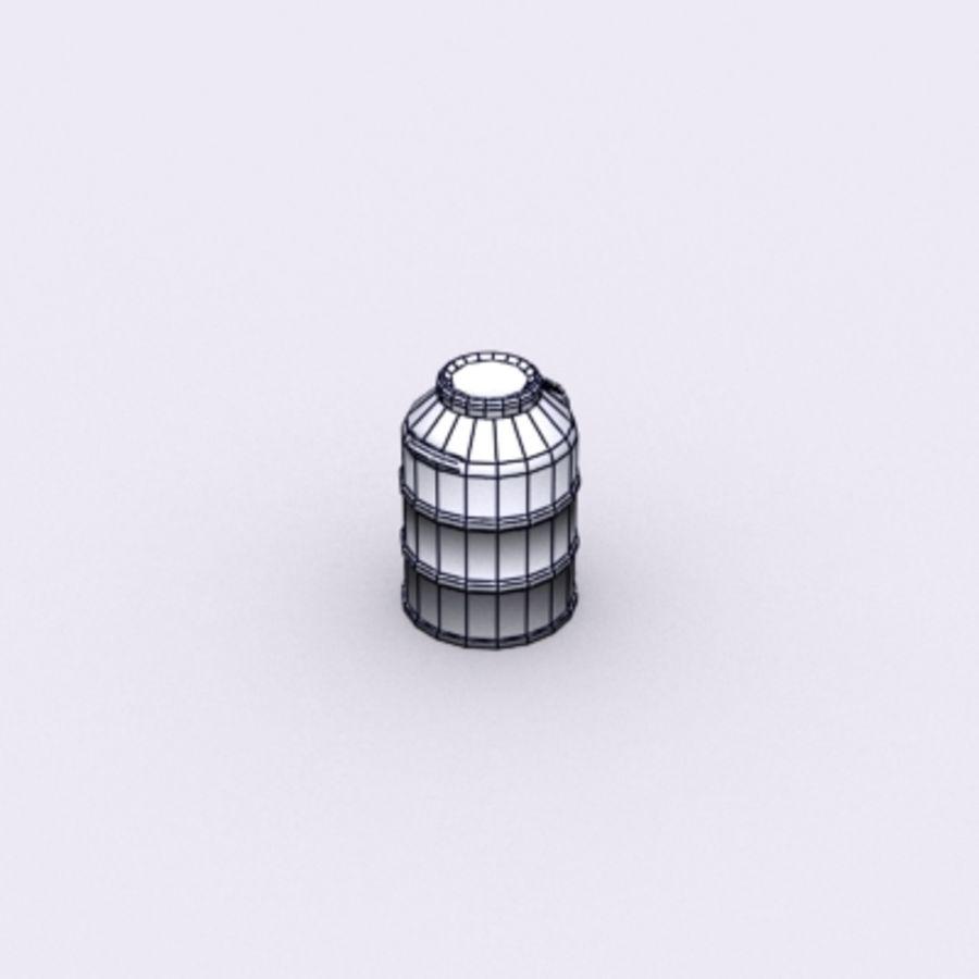 Oil Barrels royalty-free 3d model - Preview no. 58