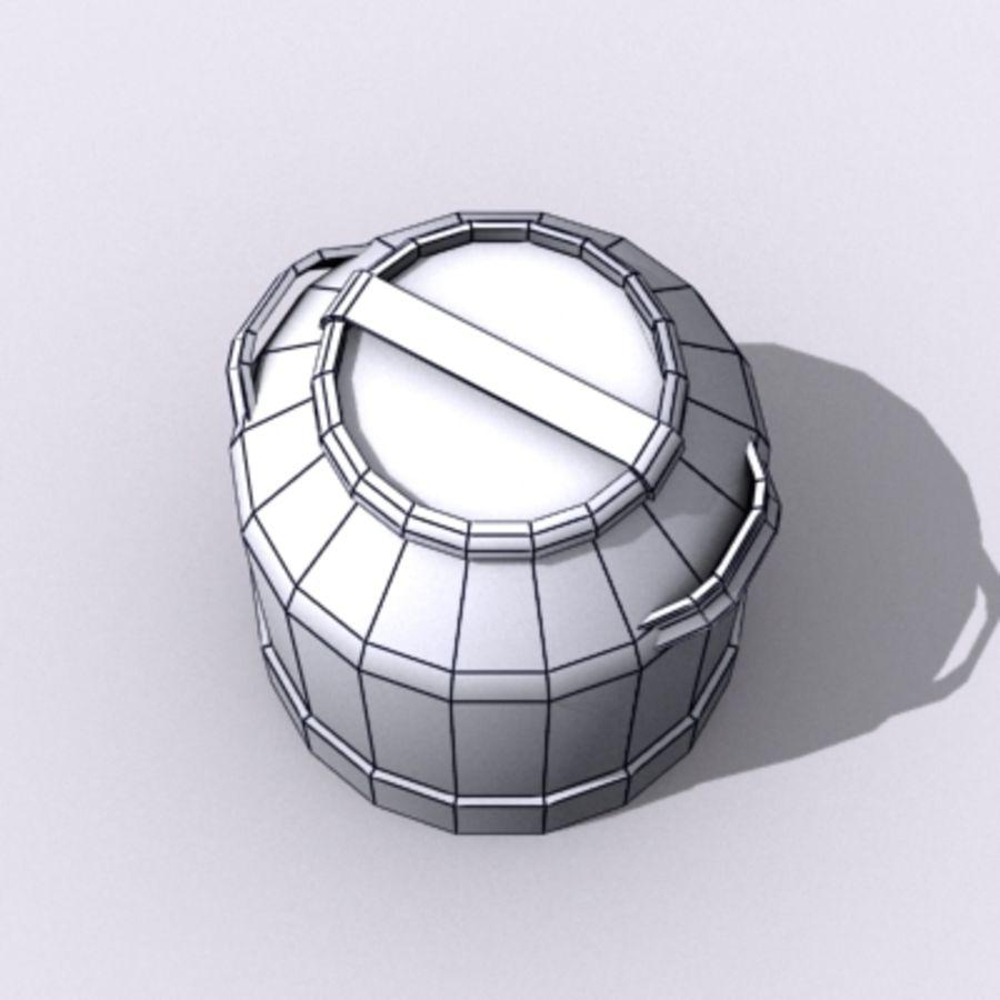 Oil Barrels royalty-free 3d model - Preview no. 45