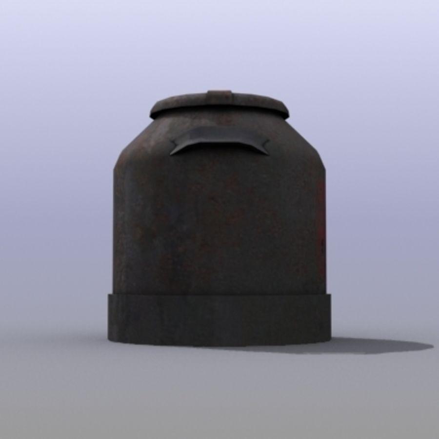 Oil Barrels royalty-free 3d model - Preview no. 39