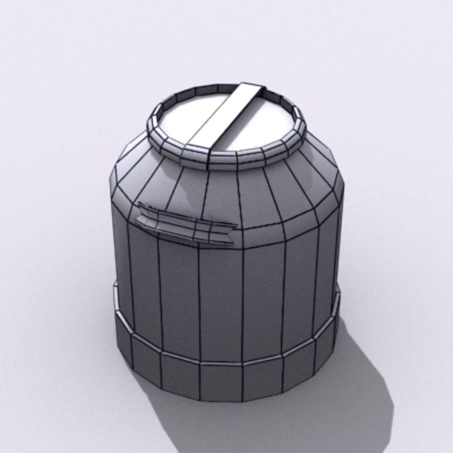 Oil Barrels royalty-free 3d model - Preview no. 51