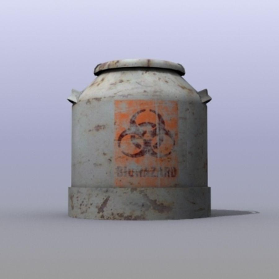 Oil Barrels royalty-free 3d model - Preview no. 10