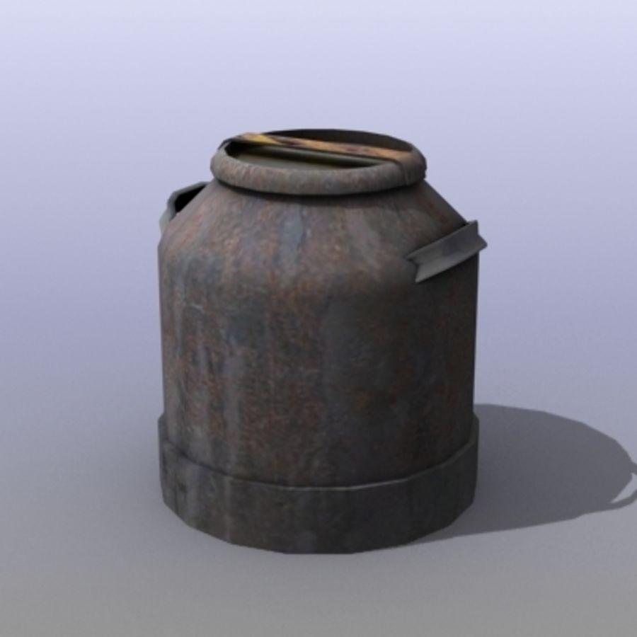 Oil Barrels royalty-free 3d model - Preview no. 36