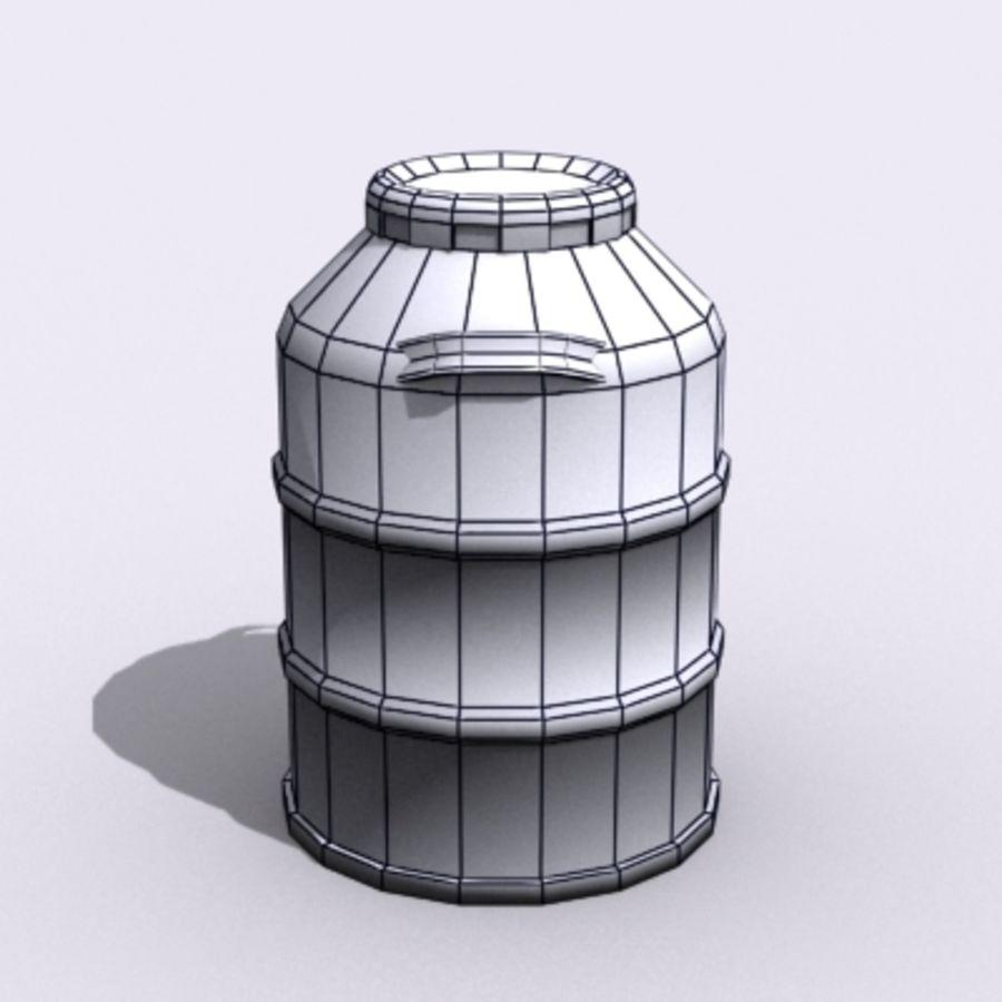 Oil Barrels royalty-free 3d model - Preview no. 53