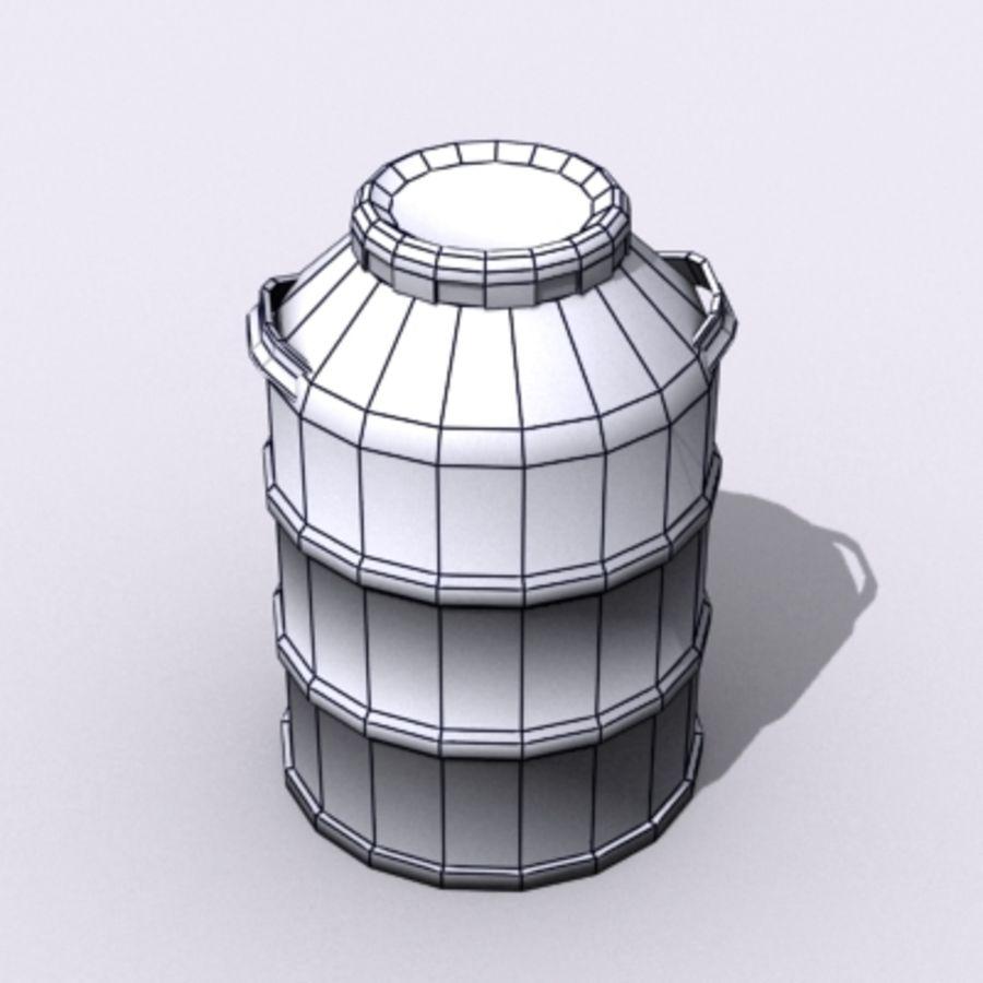 Oil Barrels royalty-free 3d model - Preview no. 56
