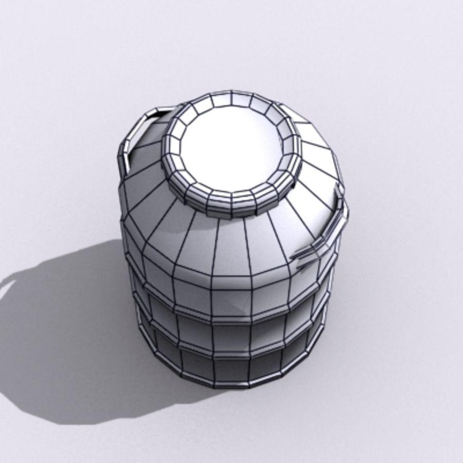 Oil Barrels royalty-free 3d model - Preview no. 57