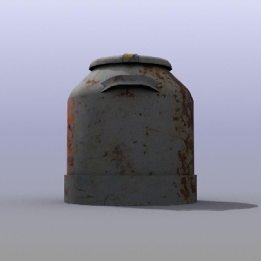 Oil Barrels royalty-free 3d model - Preview no. 11