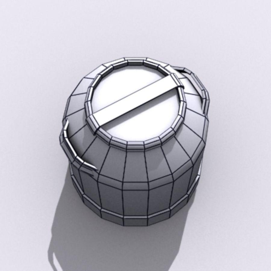 Oil Barrels royalty-free 3d model - Preview no. 60