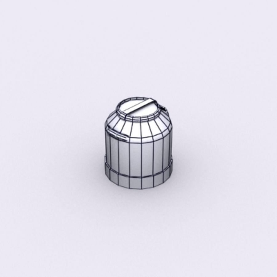 Oil Barrels royalty-free 3d model - Preview no. 52