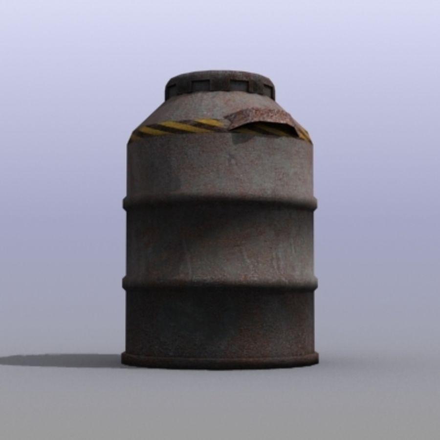 Oil Barrels royalty-free 3d model - Preview no. 29