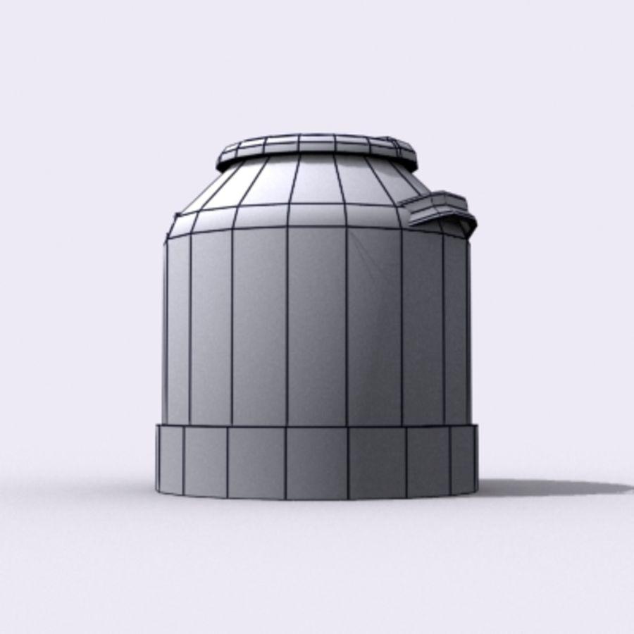 Oil Barrels royalty-free 3d model - Preview no. 44